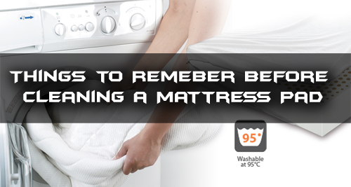 things to remember before cleaning a mattress pad cleaning service tips. Black Bedroom Furniture Sets. Home Design Ideas